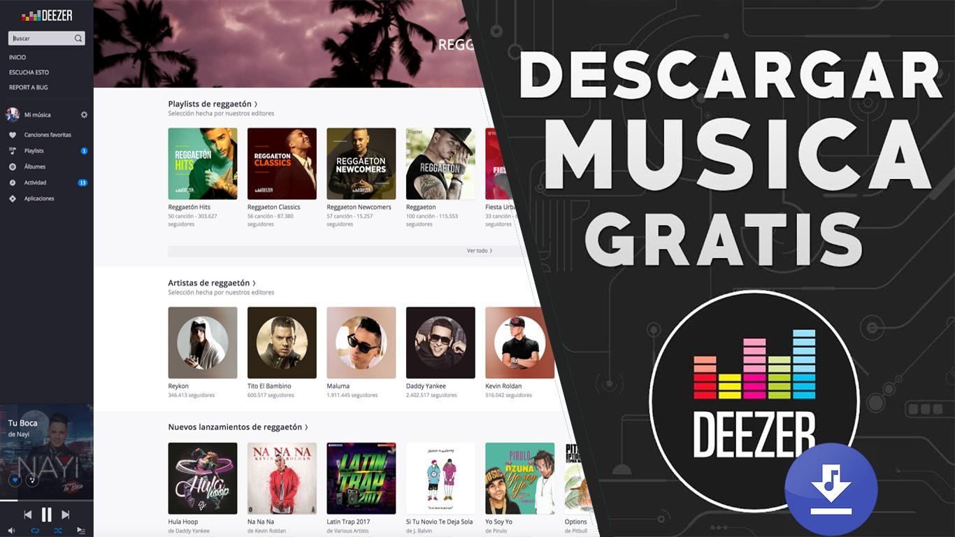 deezer downloader pc 2018 julio