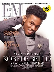 Spend your Day with Korede Bello! Exquisite Magazine Partners with Woodin Nigeria for an Autograph Session