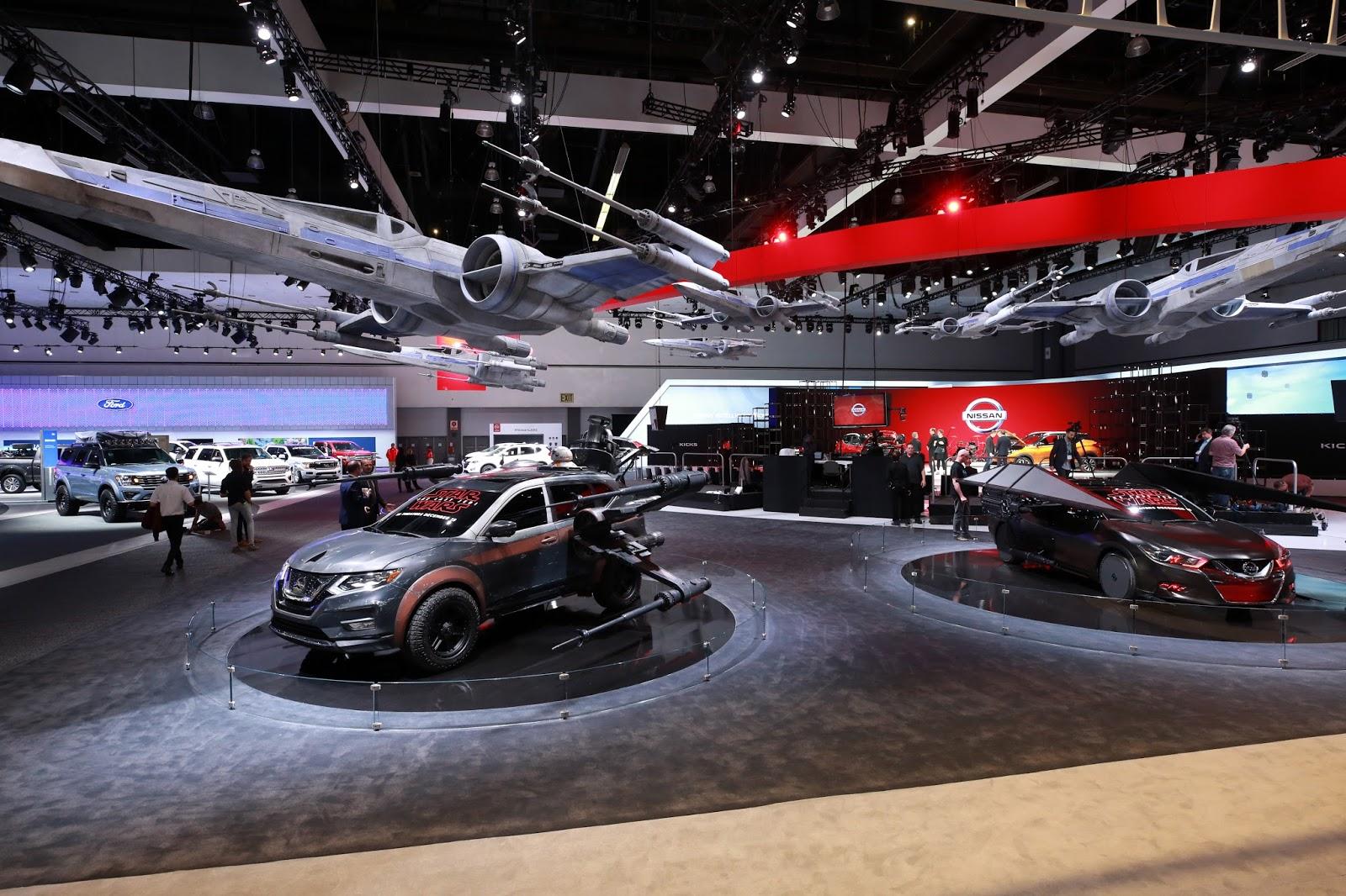 A Nissan Continua Impulsionando A Inovação, A Tecnologia E A Emoção Com Sua  Parceria Com A Saga Star Wars Na Edição Deste Ano Do Salão Do Automóvel De  Los ...