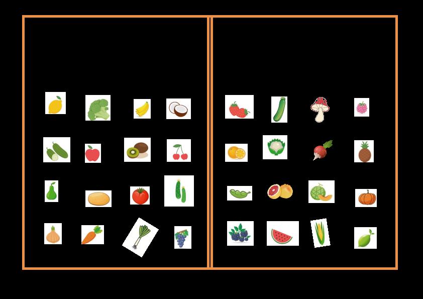 grille-bingo-anglais-fruits-legumes-vegetables