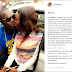 Nollywood actor, Yomi Fabiyi, obliges a fan's request for a kiss (Photo)
