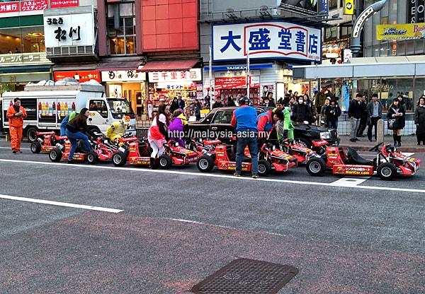 MariCAR Go Kart Tour Shibuya