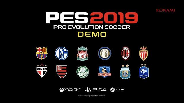 Jadwal Rilis Demo PES 2019
