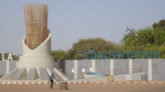 Impressive Roundabouts in Niamey
