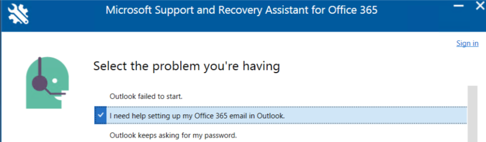 email microsoft support
