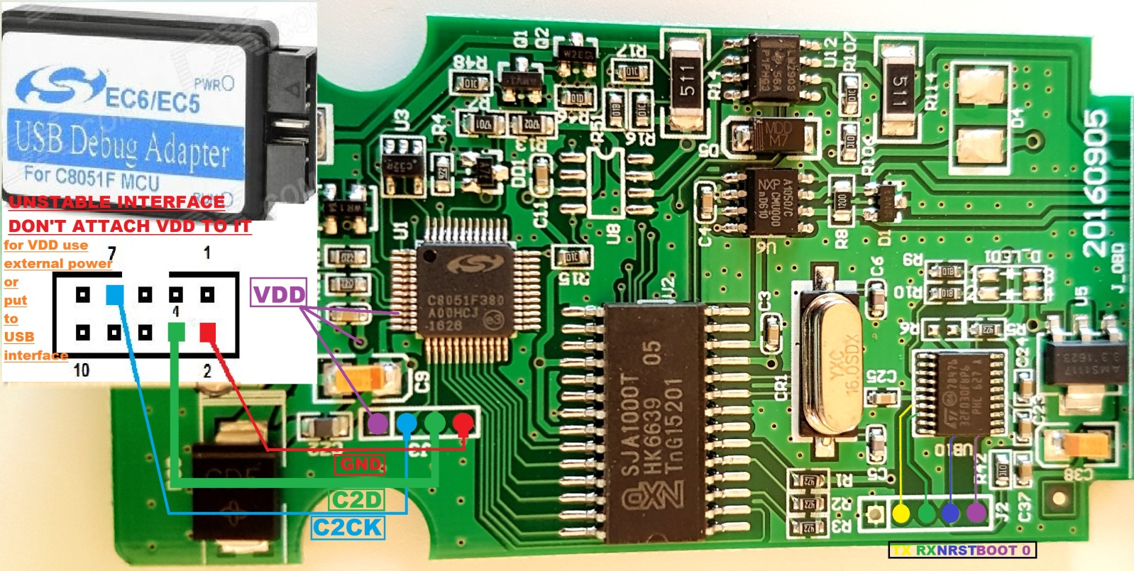 MPPS V18 PCB Schematics | MPPS V18 EU clone interface