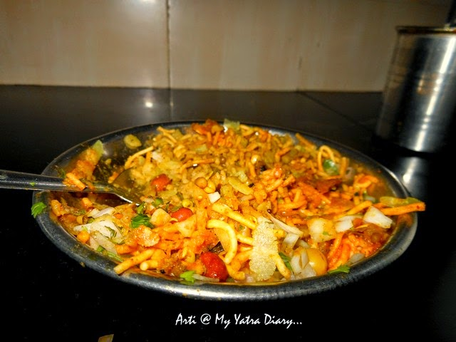 The spicy fiery Missal Pav in Pune, Maharashtra