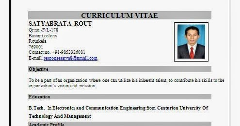 call center resume format