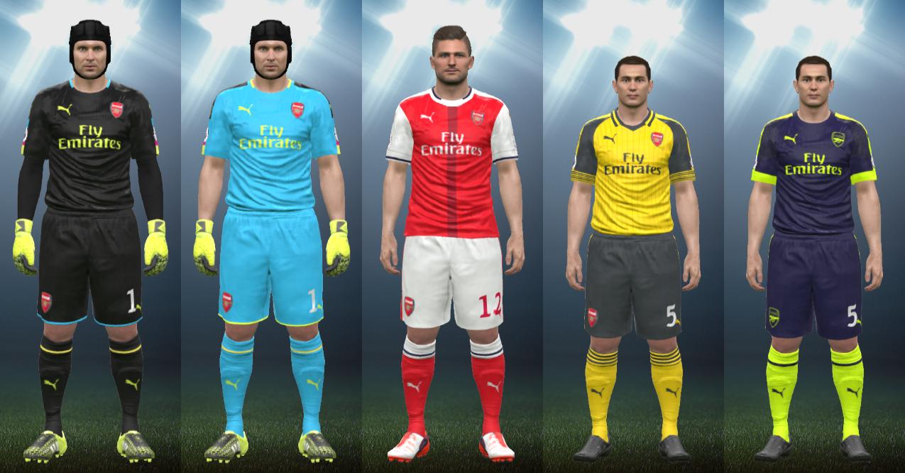 Wepes Sport: Uniforme Arsenal 2016/17