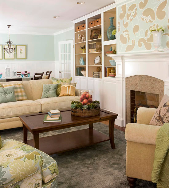 Modern Furniture Colorful Living Rooms Decorating Ideas 2012: Modern Furniture: 2012 Blue Decorating Design Ideas