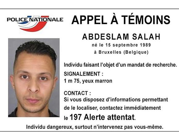 A caçada continua a Salah Abdeslam