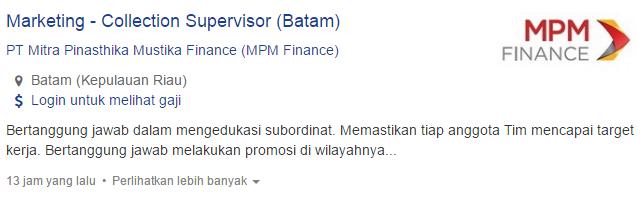 Info Lowongan Kerja Kabupaten Lingga Terbaru 2019