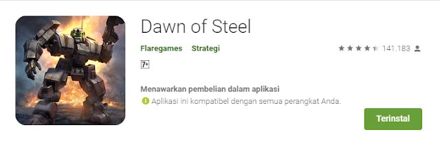 Game Strategi Android Terbaik Dawn of Steel