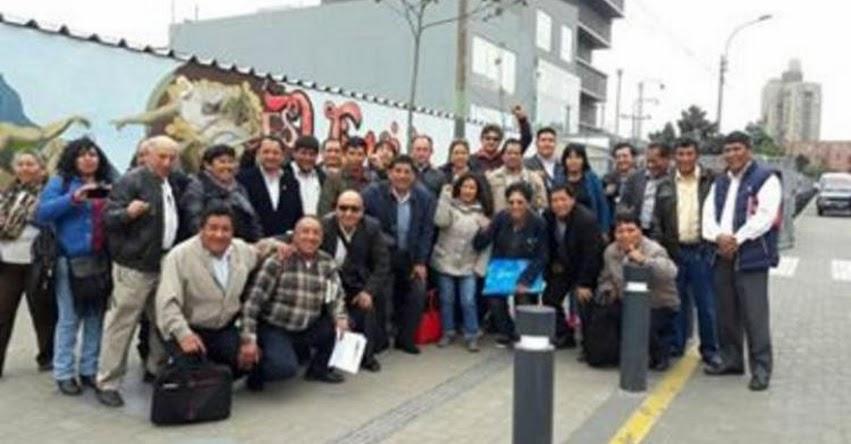 La huelga es un derecho constitucional, sostiene secretario de SUTE Junín, Brangil Mateo