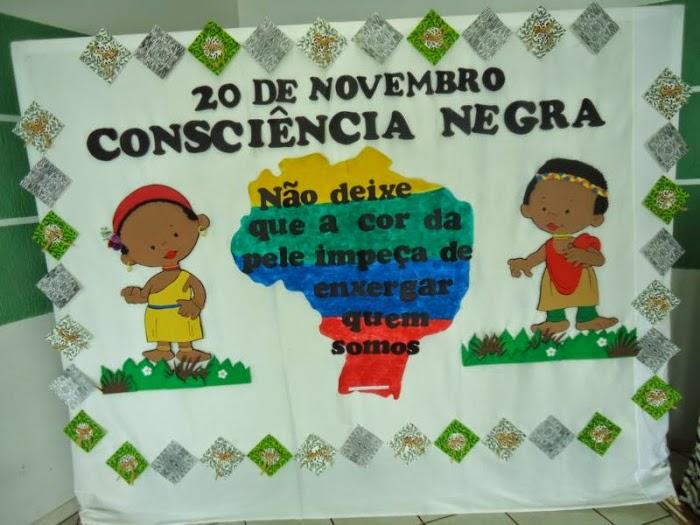 Painéis Para A Consciência Negra Só Escola