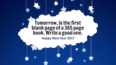 New and First Day of 2017 Quote New Year Wallpaper Download
