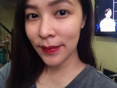 KJM Cosmetics Cheek and Lip Stain in Bloodshot