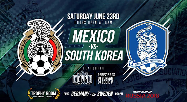 SOUTH KOREA VS MEXICO LIVE STREAM WORLD CUP 23 JUNE 2018
