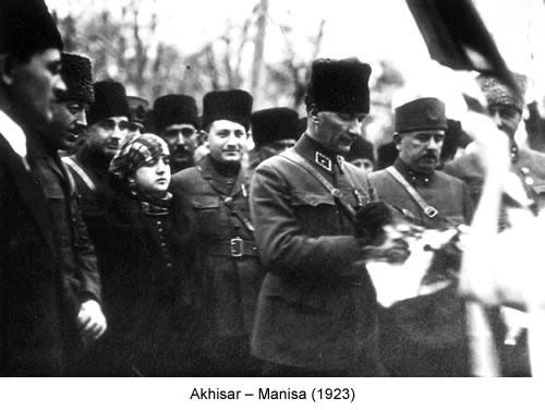 Atatürk Akhisar 1923 Fotoğraf