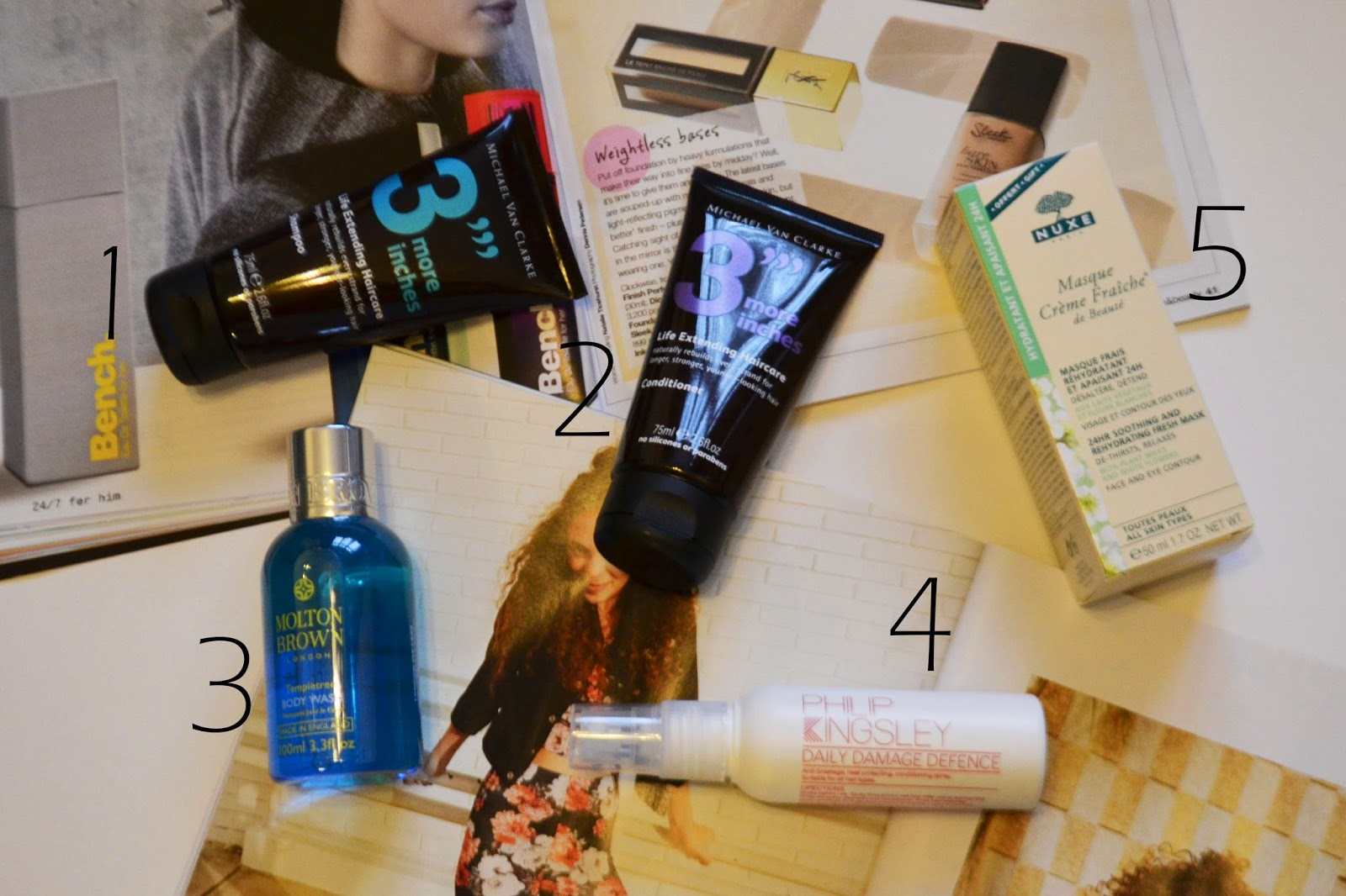 The products inside the January look Fantastic box