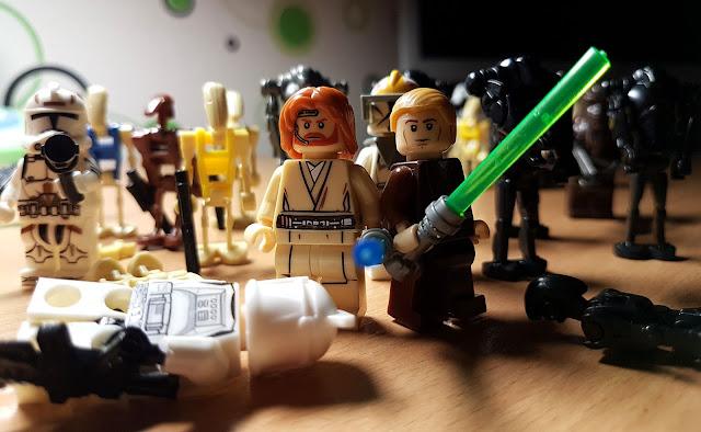 Оби-Ван Кеноби и Энакин Скайуокер, фигурки лего купить, клоны против дроидов, сепаратисты лего, звездные войны, стар варс, star wars