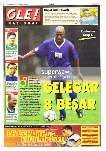 GELEGAR 8 BESAR LIGA INDONESIA