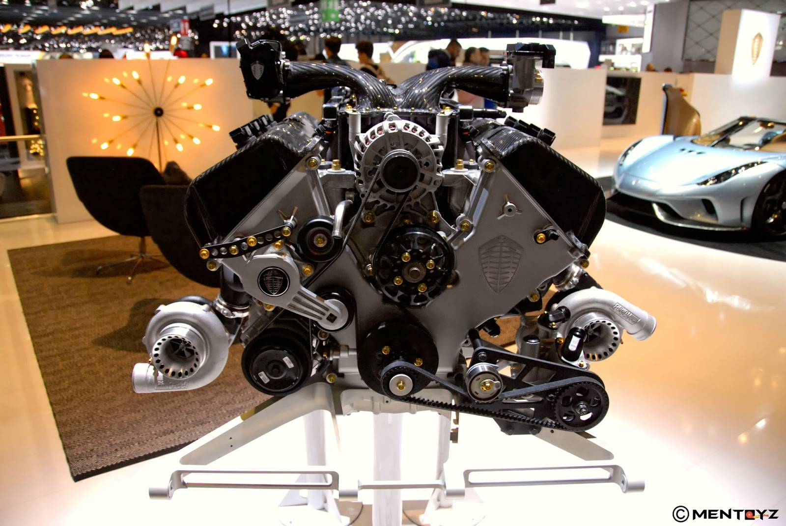 Von Koenigsegg Invented The Direct Drive System Kdd And It Was Developed For Regera By Advanced Engineering Team