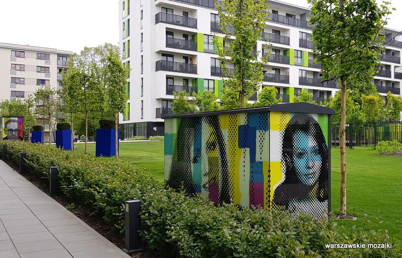 Warszawa Warsaw Żoliborz osiedle architektura mural warszawskie murale streetart kolor