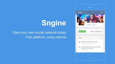 Sngine v2.5.6 - The Ultimate PHP Social Network Platform