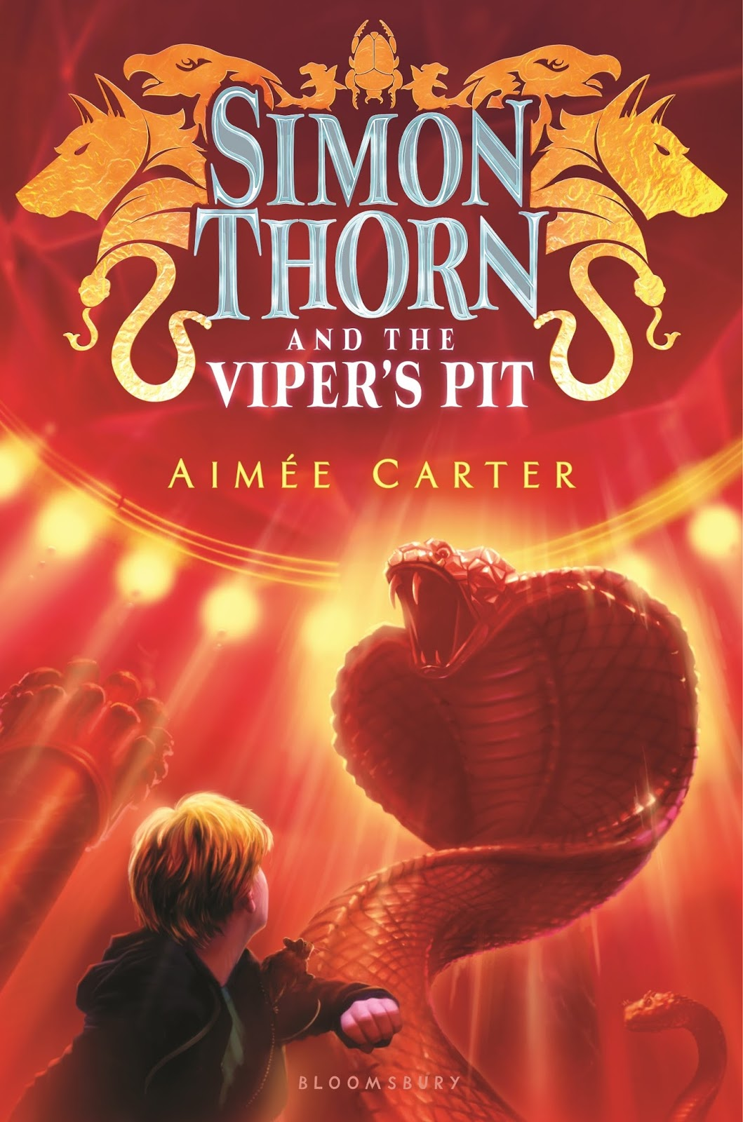 Aim�e Carter  Simon Thorn And The Viper's Pit  Published By Bloomsbury  Usa Childrens (february 7, 2017)