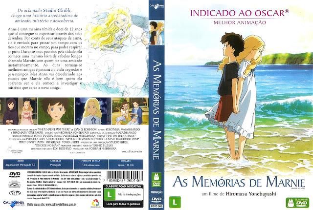 Capa DVD AS MEMÓRIAS DE MARNIE