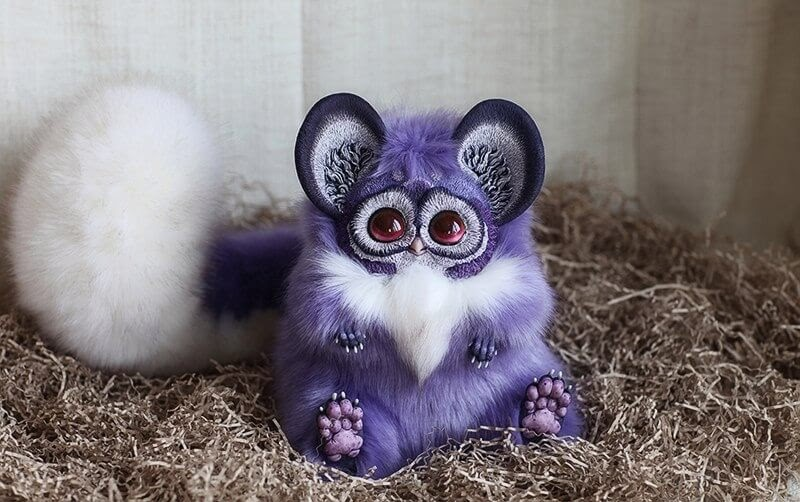 13-Tiny-Griffins-Glowing-Lavender-Santaniel-Santani-Dolls-of-Little-Fantasy-Russian-Creatures-www-designstack-co