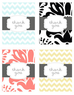 free colorful thank you cards