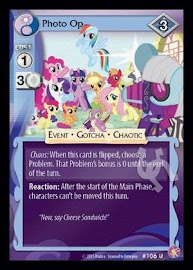My Little Pony Photo Op Absolute Discord CCG Card