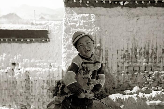 Tibet, Gyantse, © L. Gigout, 1990
