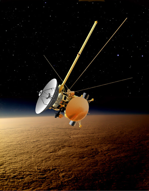 Orbiter.ch Space News: Forecast for Titan: Wild Weather ...