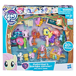 My Little Pony Fluttershy & Starlight Glimmer Pet Care Class