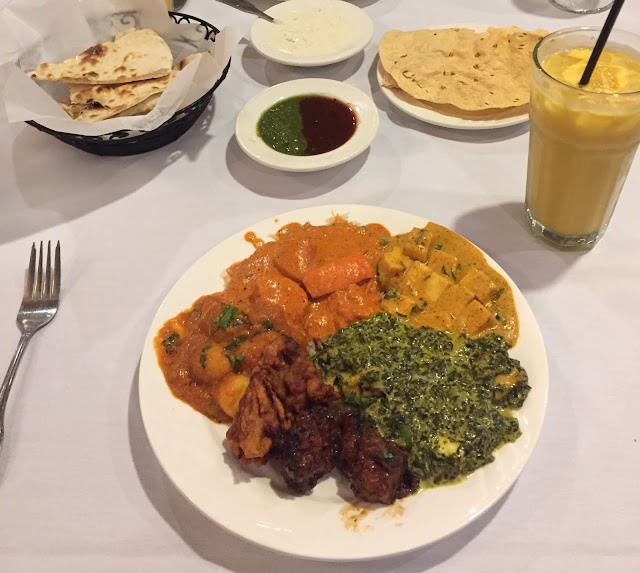 All of the things at The Bombay Brasserie