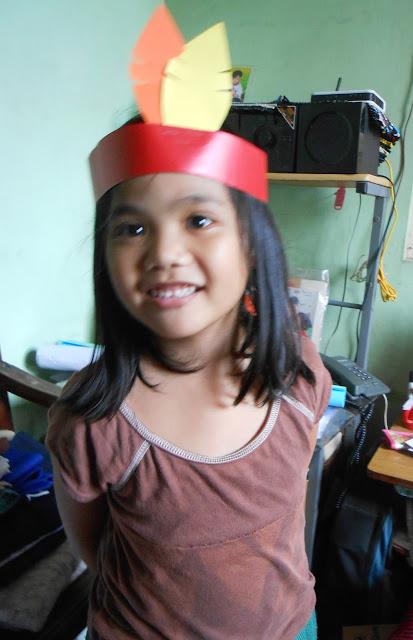 simple Pocahontas theme costume