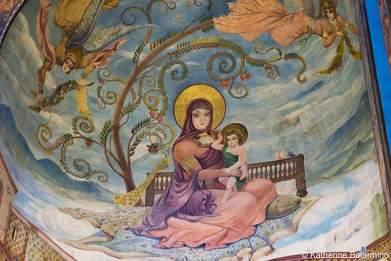 Kashveti Church Mary and Jesus Fresco Things to Do in Tbilisi Georgia