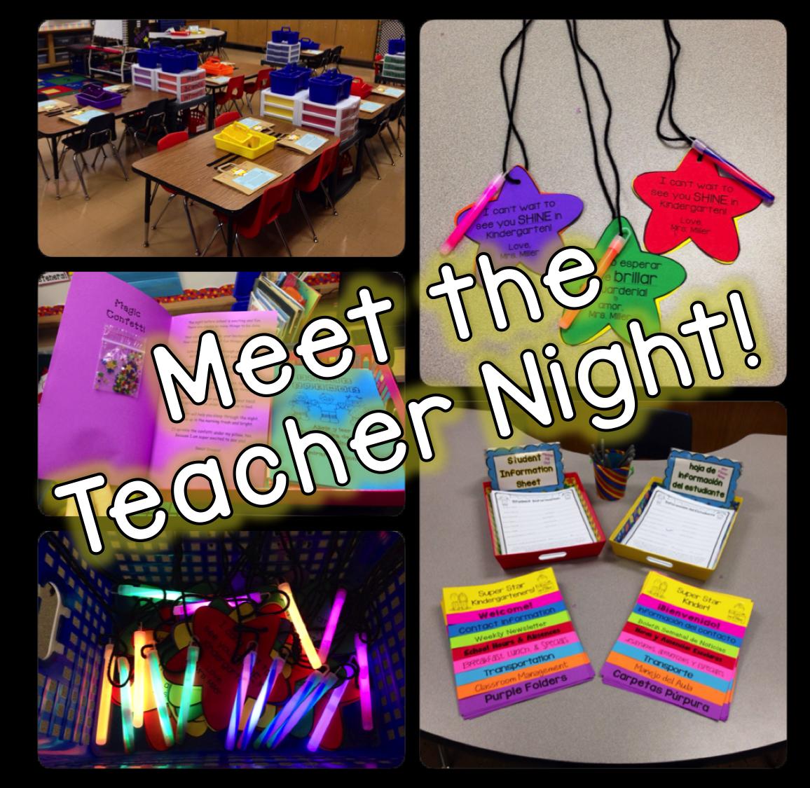Meet the Teacher Night! & FREEBIES!