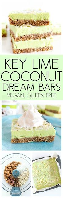 Key Lime Coconut Dream Bars