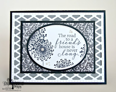 Our Daily Bread Designs Stamp Set: To My Friend, Custom Dies: Lattice, Pierced Ovals, Ovals, Pierced Rectangles, Paper Collection: Chalkboard