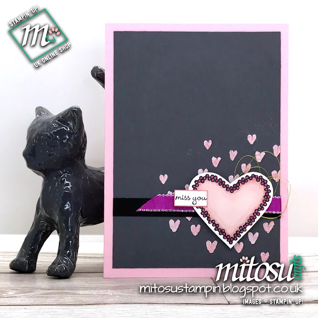 Order Stampin' Up! Heart Happiness Stamp Set from Mitosu Crafts UK Online Shop