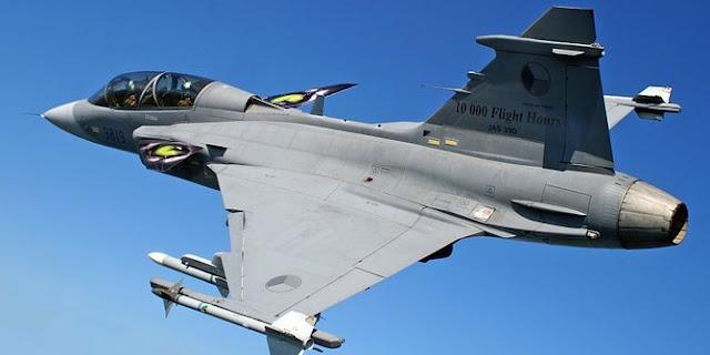 Pembelian Sukhoi Su-35 belum jelas, Saab Kembali goda TNI AU dengan jet tempur Gripen