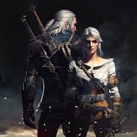 Geralt and Ciri [Live Wallpaper Engine]