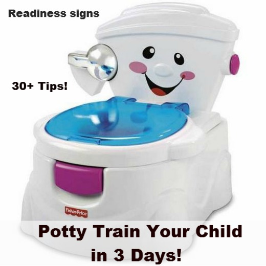 Potty Train In Just 3 Days