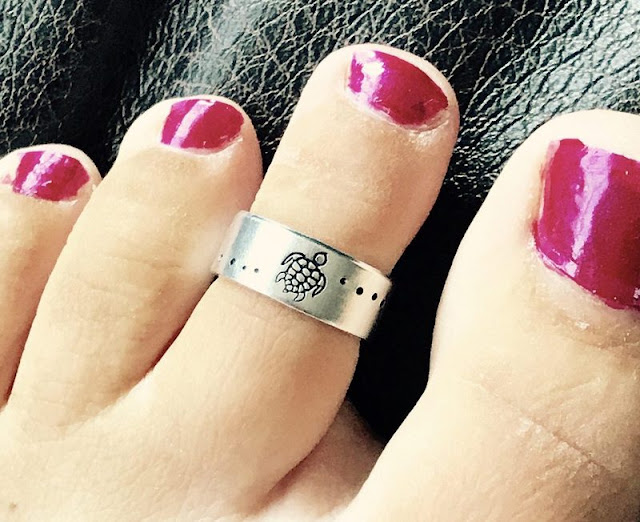 Silver Adjustable Toe Ring