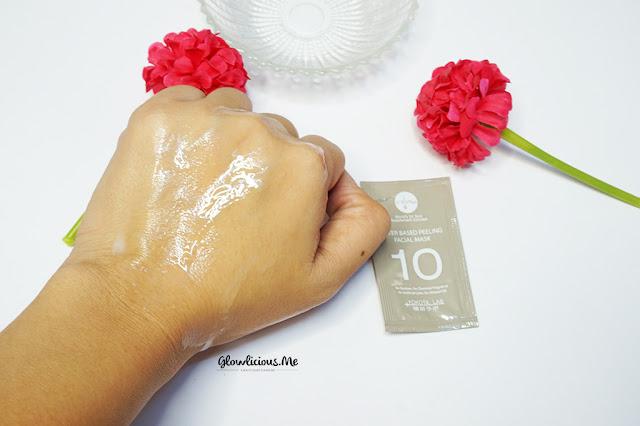 Tekstur V10Plus Water Based Peeling Facial Mask