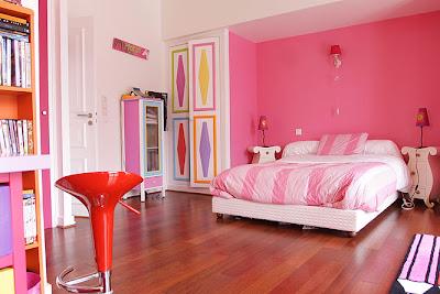 papier peint pour chambre ado fille. Black Bedroom Furniture Sets. Home Design Ideas
